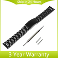 22mm Quick Release Watch Band for Motorola Moto 360 2 Gen 46mm 2015 SamsungGear 2 R380 R381 R382 Stainless Steel Strap Bracelet