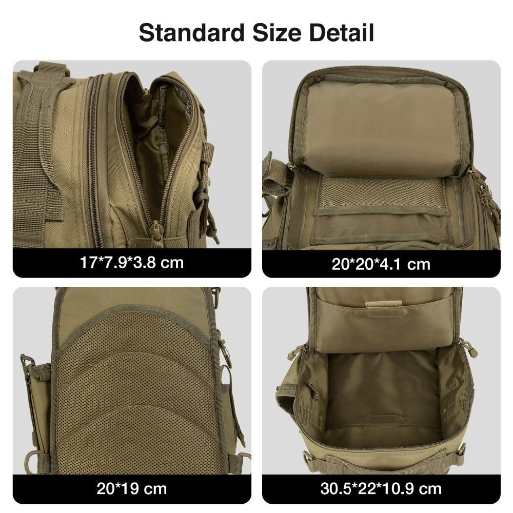 Piscifun Fishing-Tackle-Bag Single-Shoulder-Backpack Nylon Huntting Outdoor Waterproof