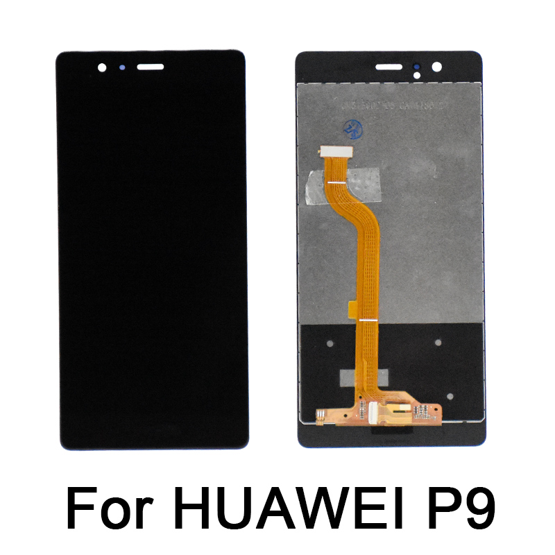 New Original For HUAWEI P9 LCD Display Screen with Frame Replace for HUAWEI P9 LCD Display With Frame VNS L31 L21 EVA L09 L19