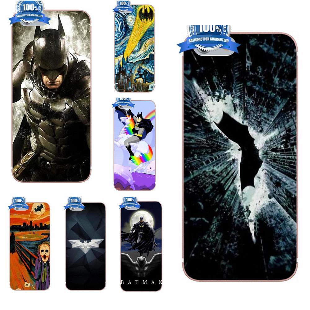 Oedmeb Starry Night Superhero Batman Dark Knight For Galaxy A3 A5 A7 J1 J3 J5 J7 2016 2017 S5 S6 S7 S8 S9 edge Plus TPU Cases