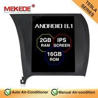 MEKEDE Tesla style IPS Screen android 8.1 Car DVD Multimedia GPS Player For Kia K3 2013 2014 2015 GPS Navigation Radio Stereo