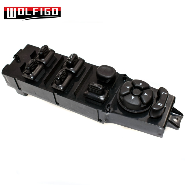 Quad Cab Power Master Window Switch For 2009 2012 Dodge: WOLFIGO New Driver Master LH Power Window Switch For Dodge