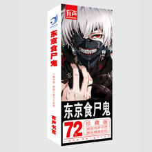 36 Pcs/Set Anime Tokyo Ghoul Paper Bookmark Stationery Bookmarks Book Holder Message Card Gift
