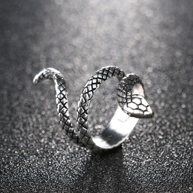 Womens Snake Ring