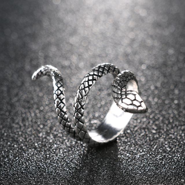 Snake Shaped Ring for Women