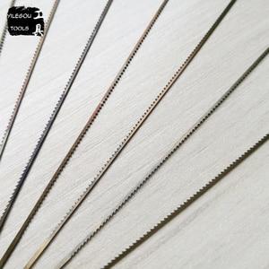 Image 2 - משלוח חינם 12 חתיכות Jeweller של להבי מסור 130mm גלילה מסור להבי 14 סוגים תכשיטנים ראה להבי חיתוך מגוון מתכת ירקן