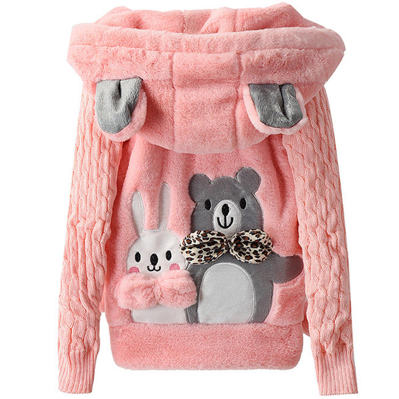 2017 New Girls clothing Kids Coats Flower Cotton Jackets For Autumn Winter Kids Clothes Double-Breasted Top children Outwear spring autumn kids motorcycle leather jacket black boys moto jackets clothes children outwear for boy clothing coats costume