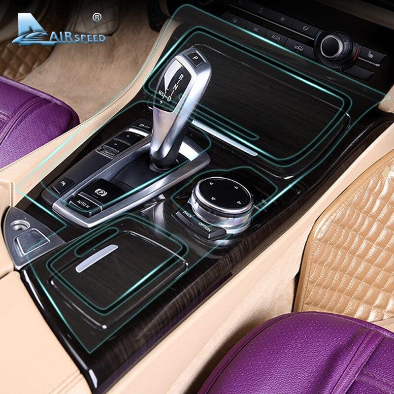 Скорость полета салона защитная пленка приборной панели консоли Защитная крышка пленка для BMW F30 3 серии F10 G30 5 серии аксессуары