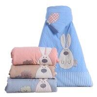 2018 Cute Soft Cotton Sleeping Bag Newborns Sleeping Bag Envelope For Newborns Baby Fashion New Newborn Baby Boys Girls
