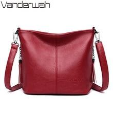 cda2983a8d99a Panie ręcznie Crossbody torby dla kobiet 2019 luksusowe torebki kobiety  mody skórzana torba na ramię projektant