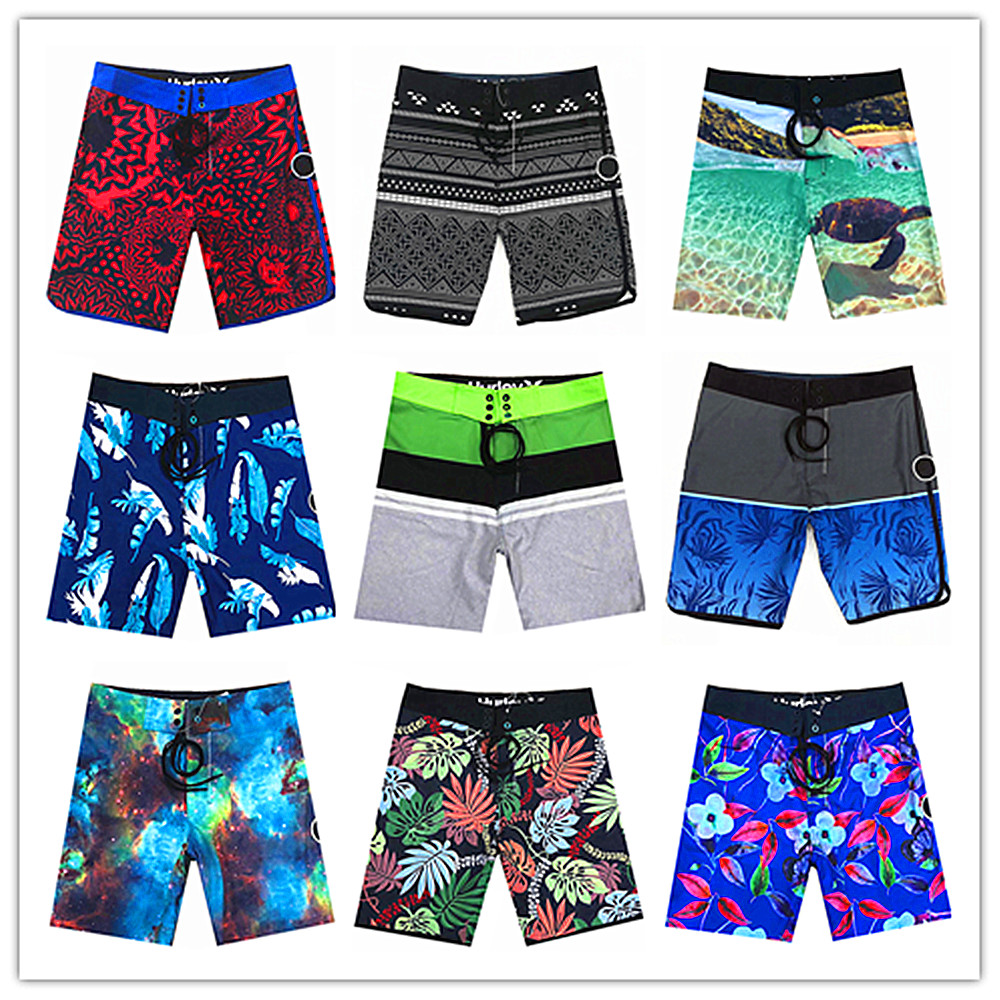 2019 New Designer Brand Fashion Phantom Men Beach   Board     Shorts   Swimwear Spandex Elastic Waist Mens Boardshorts Modal Beachwear