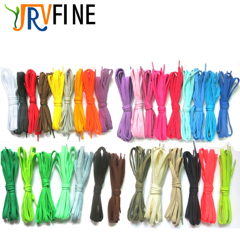 все цены на YJRVFINE 2 Pair Width 0.9CMulti Color Double Layers Hollow Flat Shoelaces Bootlaces Sneakers Shoe Laces (Length 0.5M -2M Choose) онлайн