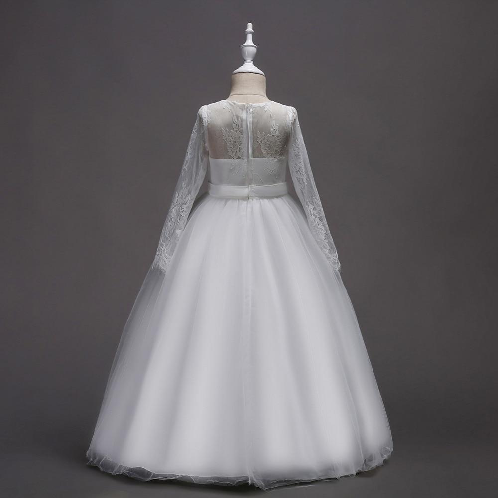 d69be04158f0a Renkli Yeni Kızlar gençler Elbise Parti Doğum Günü Çocuklar Akşam balo  elbisesi Bebek Frocks Giysileri Kız