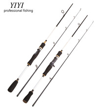 YIYI 2.1m Cheap M Casting Spinning bass Fishing Rod Lightweight 2 Section Portable Fishing Rod Medium-Action lure Carbon Rods 2018 kawa new fishing rod carbon rod spinning and casting 2 28m 2 01m 2 04m m ml action high quality fishing rod free shipping