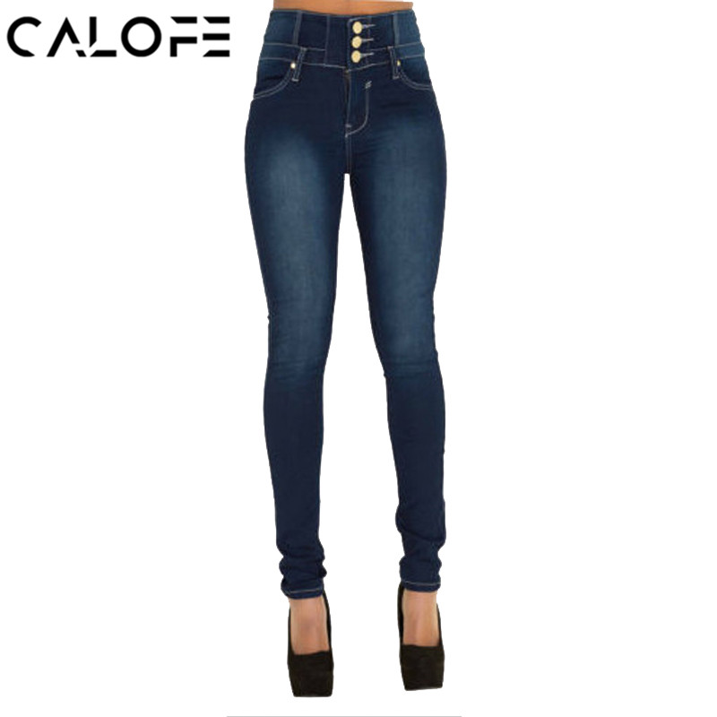 CALOFE Skinny Blue Jeans Men Autumn Vintage Denim Pencil Pants Casual  Stretch Trousers 2018 Sexy Hole Ripped Male Zipper Jeans c5be89c4b0ce