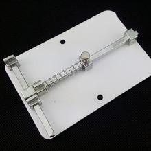 Acero Inoxidable del envío libre del teléfono celular de reparación de pcb plataforma holder accesorios de Mantenimiento de circuitos de telefonía móvil herramienta de reparación