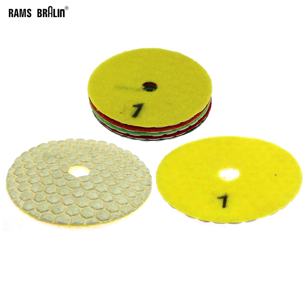 1 Piece Stone Dry Grinding Disc Marble Polishing Pad