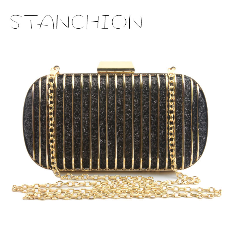 STANCHION 2018 New Fashion Trend Europe and America Rock Powder Line Network Personality Dinner Chain Handbags цена 2017