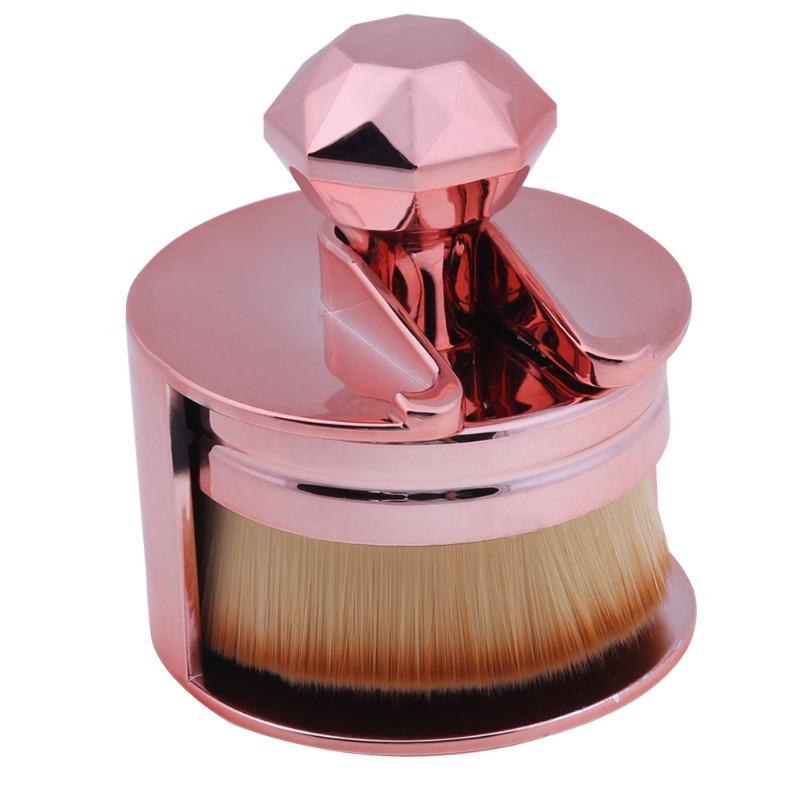 Foundation Brush Unique Design Makeup Brushes Flat Round ...