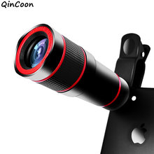 14X Zoom 4K HD Telephoto Phone Lens Monocular Telescope Camera for iPhone XS Max XR X 8 7 plus Samsung Android Smartphone Mobile(China)