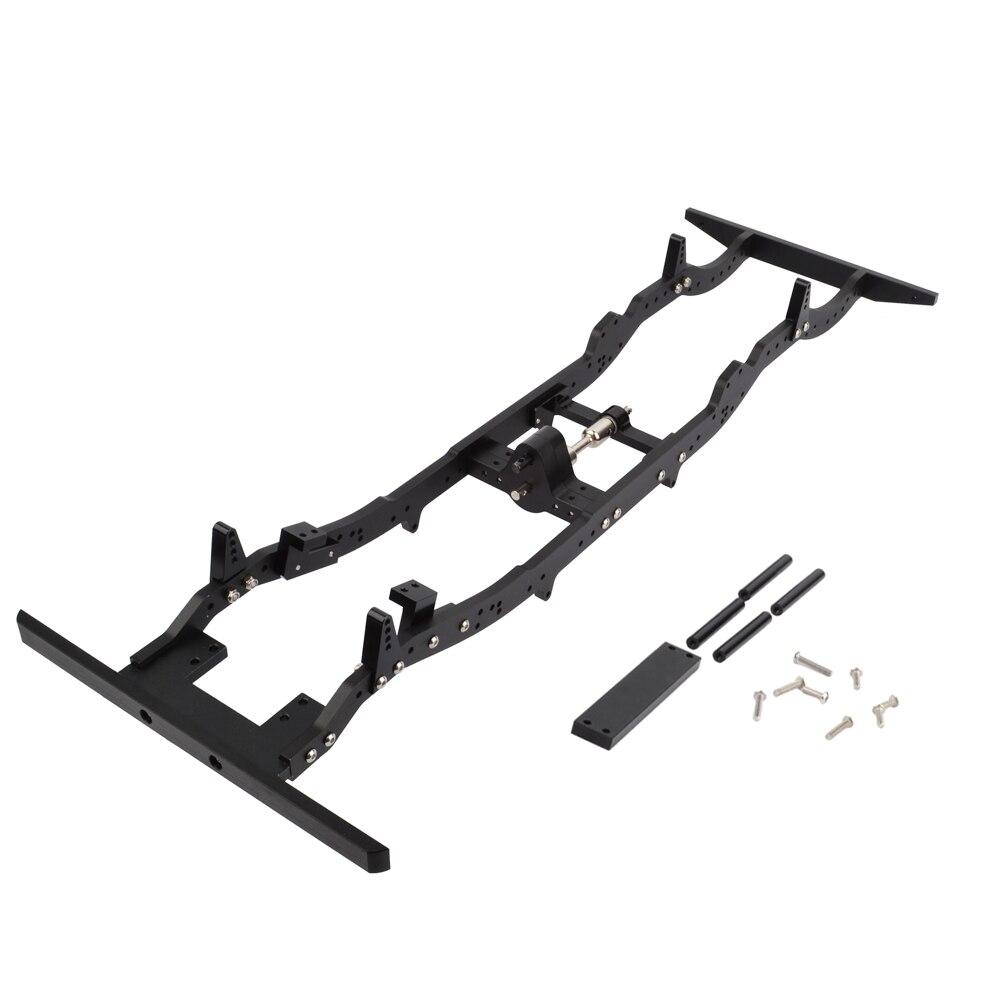 고품질 rc 크롤러 d110 알루미늄 합금 섀시 1/10 축 scx10 d110 313mm 휠베이스-에서부품 & 액세서리부터 완구 & 취미 의  그룹 1