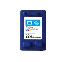Для HP 22 картридж с чернилами для HP 22 22XL Deskjet F2280 F2180 F4180 F380 F2238 D1360 D1460 D2360 F2224 F2235 F2275 F2276 F2290