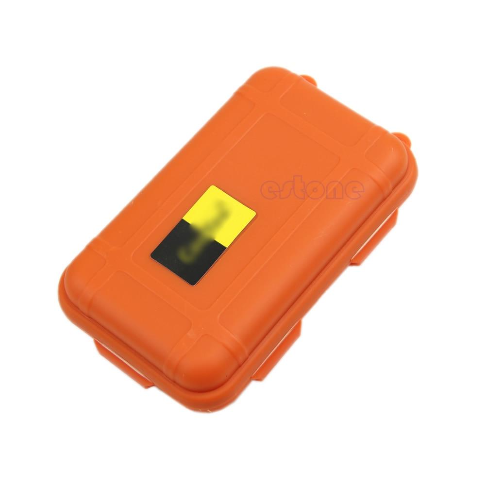 1 шт. Водонепроницаемый противоударный Открытый герметичный выживания Контейнер Для Хранения Чехол Box полезные