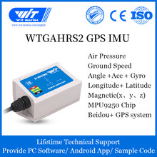 WitMotion WTGAHRS2 10-axis GPS-IMU Navigation System, Bulit-in Accelerometer+Electronic Gyro+Magnetometer+Barometer