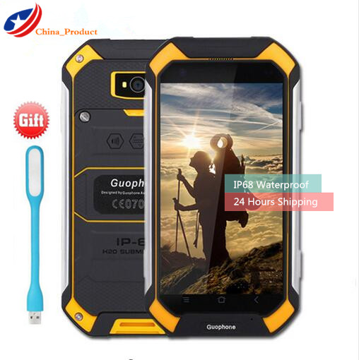 24 Hours Shipping Gift GuoPhone V19 2GB 16GB IP68 Waterproof 2680mAH Power Bank 4 5