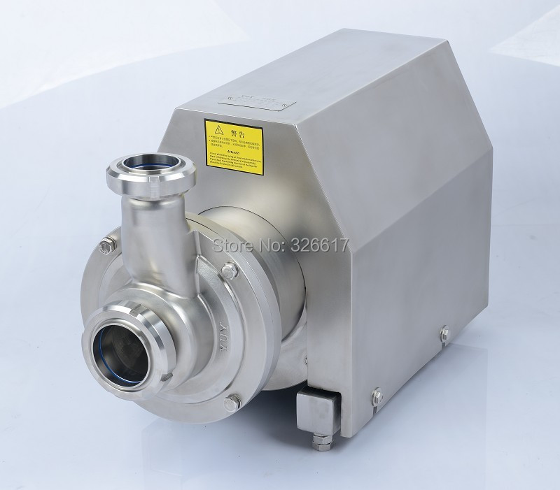 NT 10T/24m, lift/head 24m 3Kw ss316L milk  juice CIP self priming pump, ruturn pump ABB motor полюс abb 1sca105461r1001