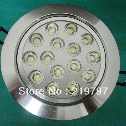 recessed ceiling light 15w dimmable 15LED 85V-265V TH22 aluminum down lamp FOR kitchen + 50pc + Discount