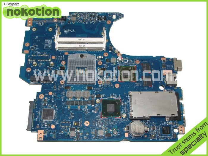 все цены на NOKOTION 670795-001 laptop motherboard for HP aspire 4530s intel HM65 graphics card ddr3 Full tested free shipping онлайн