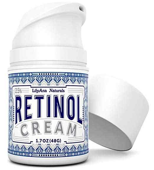 مرطب ريتينول للوجه والعينين ، يستخدم ليلا ونهارا لمكافحة الشيخوخة ، حب الشباب ، التجاعيد. مصنوع من المكونات الطبيعية
