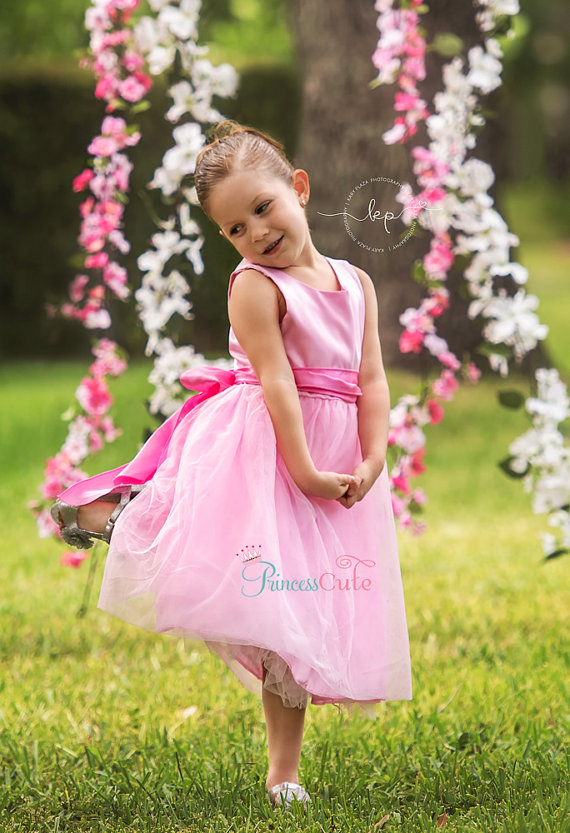Straight Flower Girls Dresses For Wedding Gown Tulle First Communion Dresses for Girls Long Mother Daughter Dresses For Girls a line flower girls dresses for wedding gown white mother daughter dresses tulle first communion dresses for girls