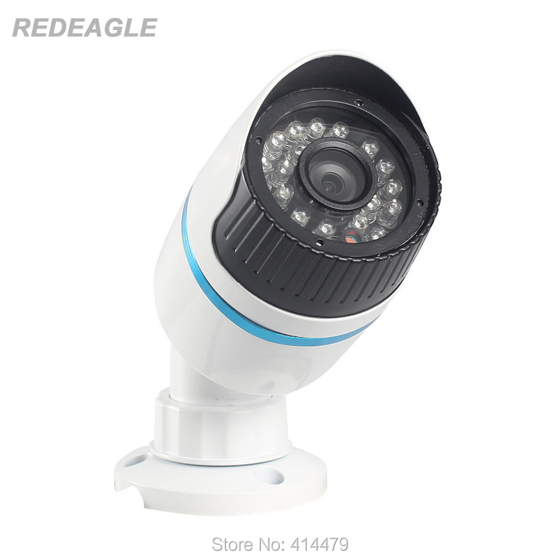 2MP AHD 1080P Outdoor Waterproof Bullet Security Camera 24pcs IR LEDs Night Vision 3.6mm HD Lens Metal Case hd ahd cvi tvi cvbs bullet camera with alarm speaker waterproof ip67 hd 1080p 4 in 1 security camera outdoor night vision ir 20m