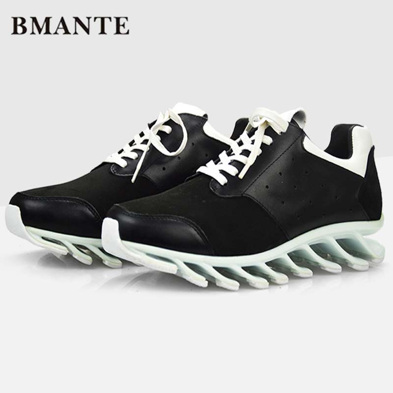 New Men Casual Shoes Luxury Trainers Summer Male Adult Genuine Leather Shoes Lace-up Flats Brand Spring Black Shoes ege brand handmade genuine leather spring shoes lace up breathable men casual shoes new fashion designer red flat male shoes