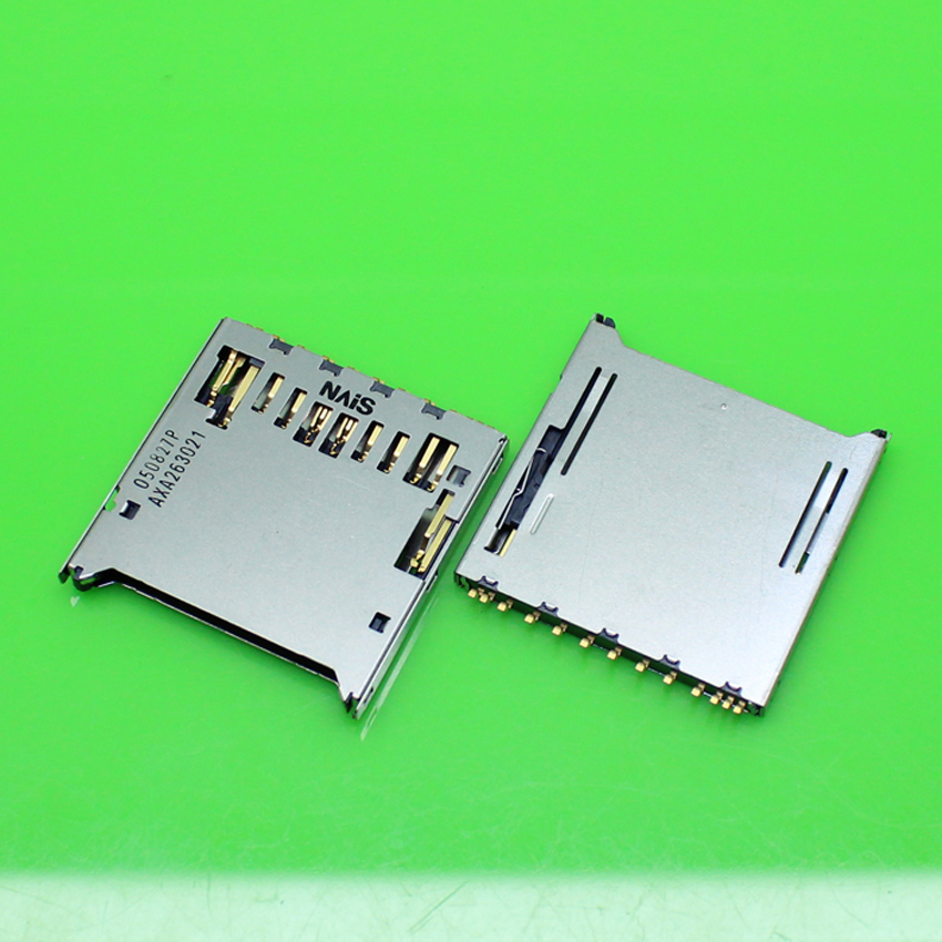 1piece Brand New for Panasonnic 13pin sim card socket tray slot holder replacement connector. size:30.5*28.5mm.KA-267