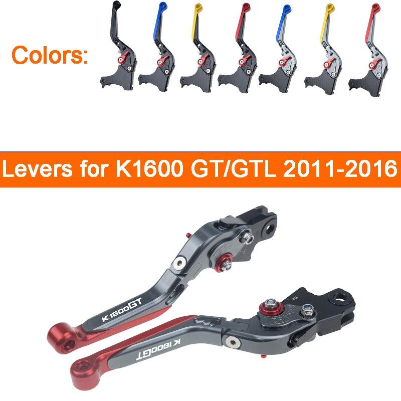 KODASKIN leviers d'embrayage de frein pour BMW K1600 GT/GTL 2011-2016 leviers de moto extensibles pliables