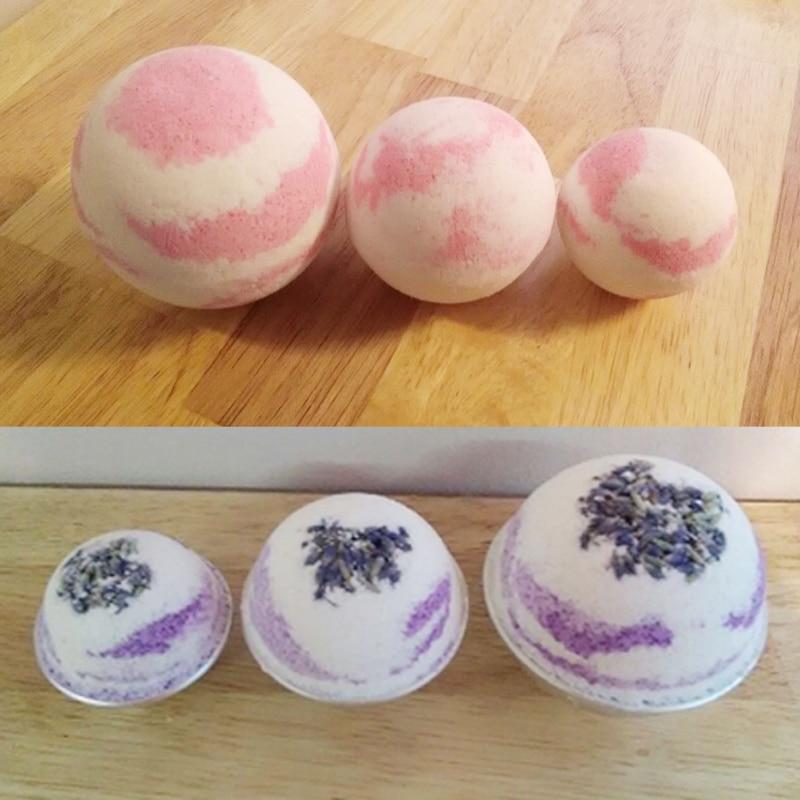 4PCS/Bag Soap Mold Form Soap Making Mold Soap Making Tools  DIY Bath Bomb Mold Cake Mold Ball Shape 3D Ball Bath Bombs