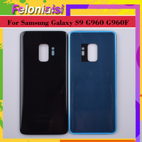 battery samsung galaxy 10pcs/ For Samsung Galaxy S9 G960 G960F SM-G960F Housing Battery Cover Back Case Rear Door Chassis S9 Housing Shell Replacement (3)