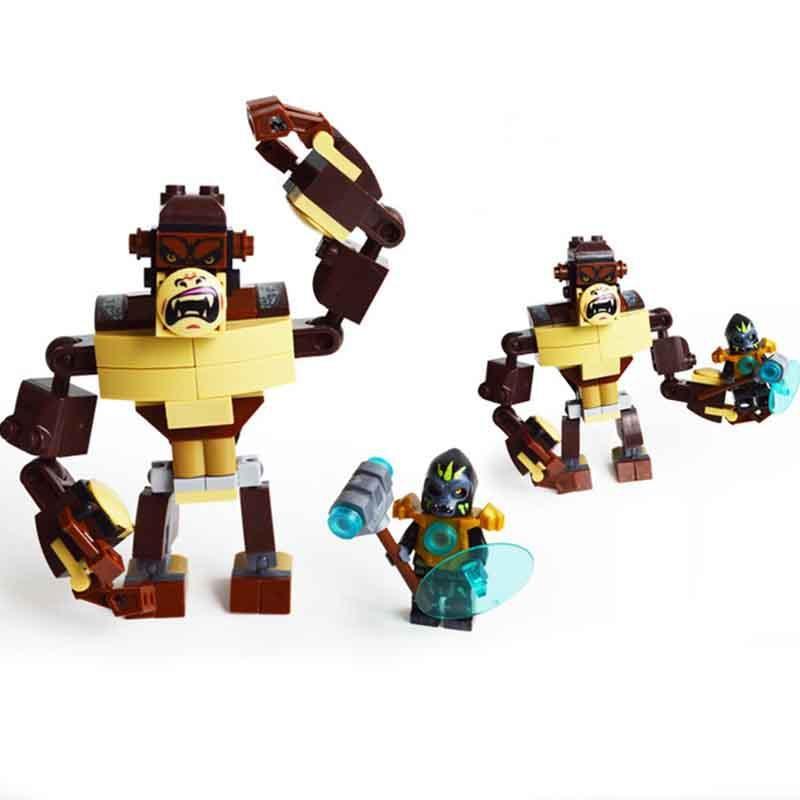 Qigong legendary animal editon CHIMAED Super Hero рисунок строительный блок кирпич для детей подарок Детская игрушка Совместимость с Legoings - Цвет: Черный