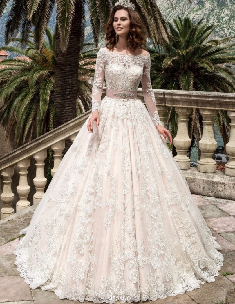 Wedding Fairytale Wedding Dresses online get cheap fairytale wedding gowns aliexpress com alibaba vintage dresses long sleeves lace 2017 robe de mariage bridal plus size ball fairytale