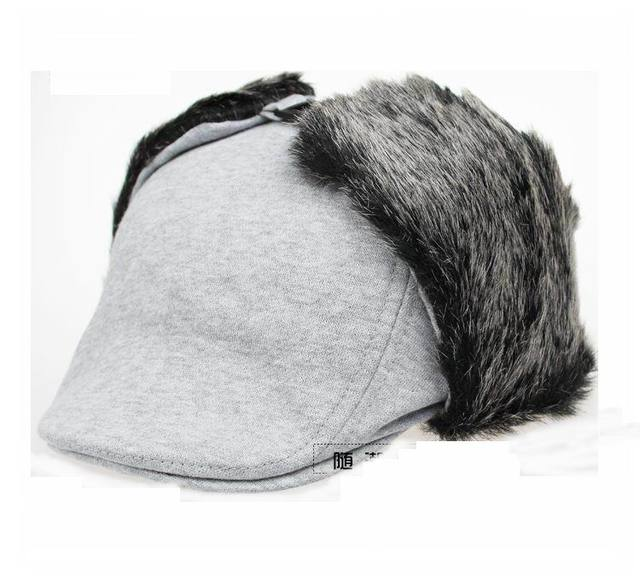 dropshipping Latest styles Winter hats for Men women Bomber Hat Berets  Versatile Russian Trapper Caps Aviator Earmuffs gorras 6669e2c4edb