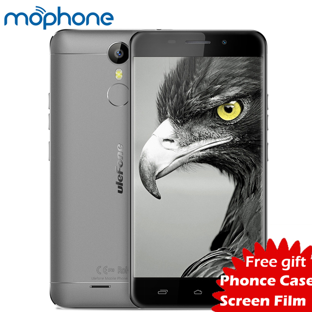 "Ulefone Metal 4200mAh 4G Smartphone Android 6.0 MTK6753 Octa Core Cellphone 3GB+16GB 13MP Fingerprint OTG 5.0"" HD Mobile Phone"