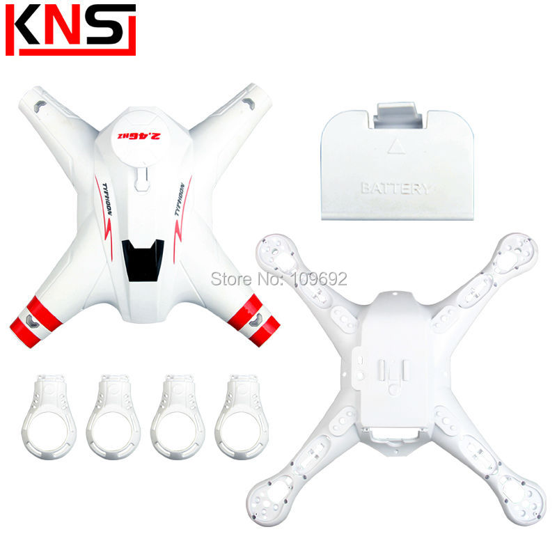 Original BAYANGTOYS X16 Main Body Shell Cover RC Quadcopter BAYANG TOYS Brushless RC Drone Spare Parts RC Helicopter Accessories wholesale syma x5sw rc quadcopter drone spare parts main body shell cover 5pcs
