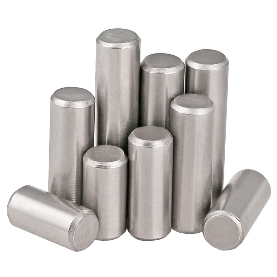 20Pcs GB119 Standard M1.5 M2 M2.5 M3 304 Stainless Steel Cylinder Pins,Solid Pins,Locating Retaining Pins