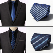 20 Colors Classic 8 Cm Tie for Man 100% Silk Luxury Striped Business Neck Men Suit Cravat Wedding Party Necktie