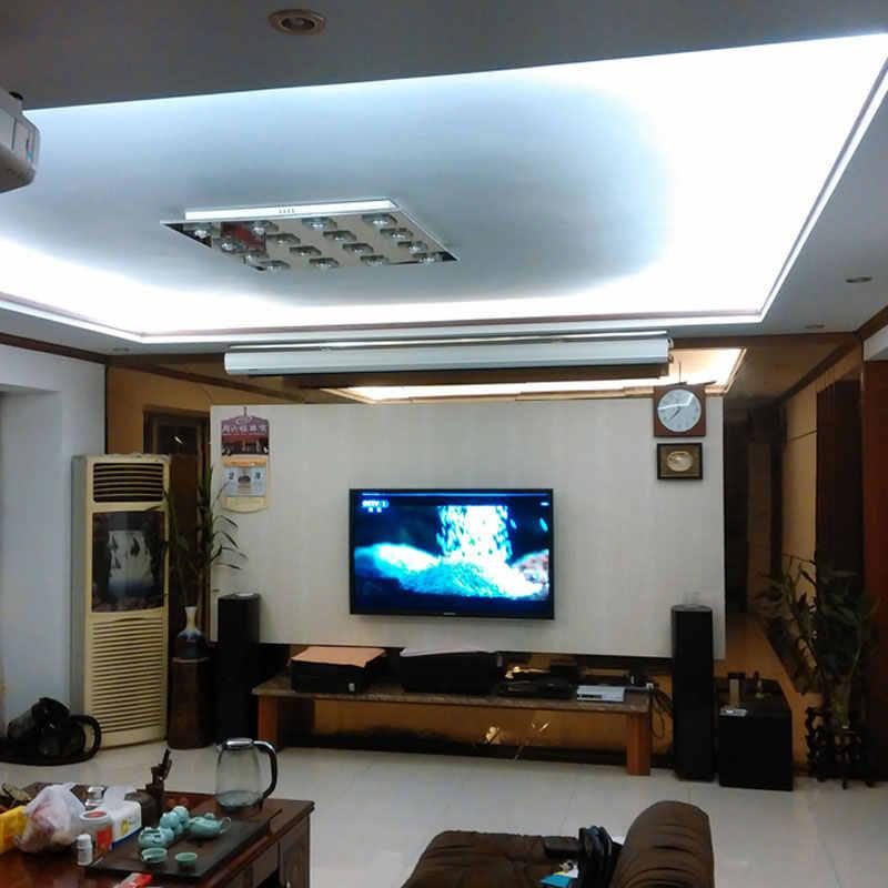 Super Bright 220V AC LED Strip 3014 IP67 Tahan Air 120 LED/M Flexible Light + Power Plug untuk taman Outdoor Pita Tali