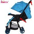 Hope bidireccional de cuatro ruedas carro de bebé plegable multifuncional carro de mano