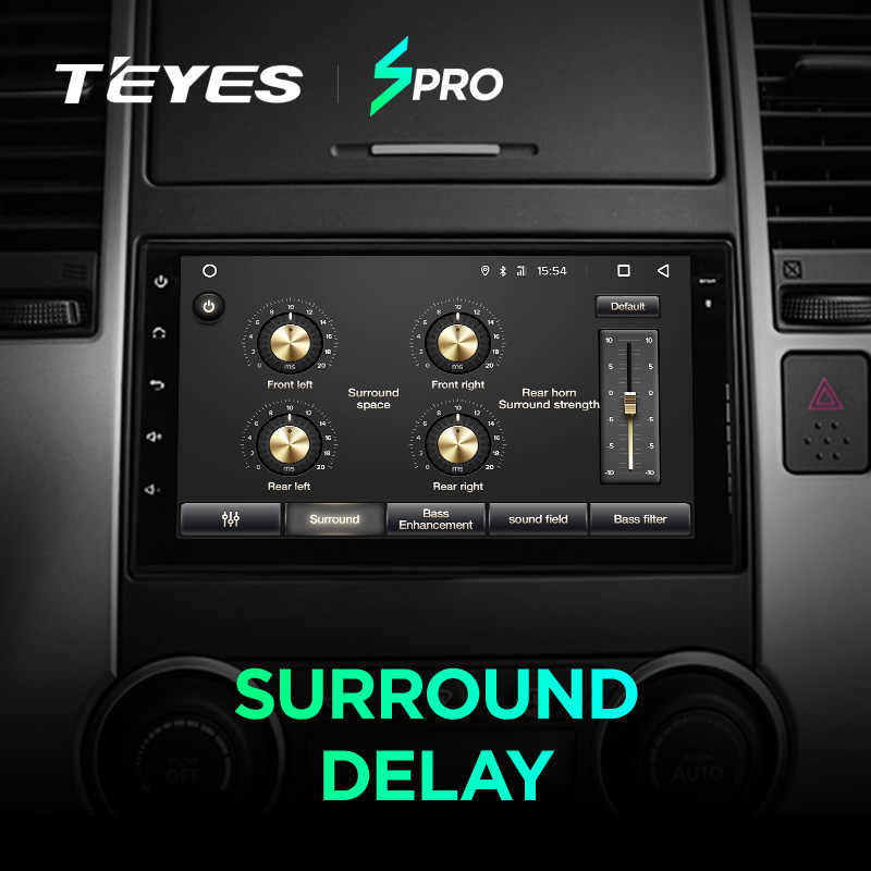 Teyes SPro samochodowy odtwarzacz multimedialny android 8.1 samochód dla Mazda almera Toyota Volkswagen Nissan Kia VW qashqai juke Peugeot LADA 2Din
